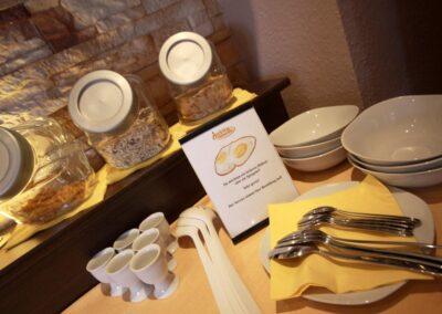 Hotel AVIVA Frühstück
