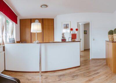 Hotel Aviva Rezeption