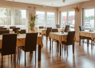 Hotel Aviva Frühstücksraum 3