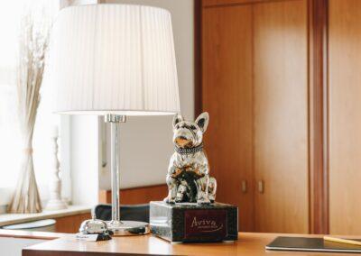 Rezeption Hotel Aviva Groß-Zimmern
